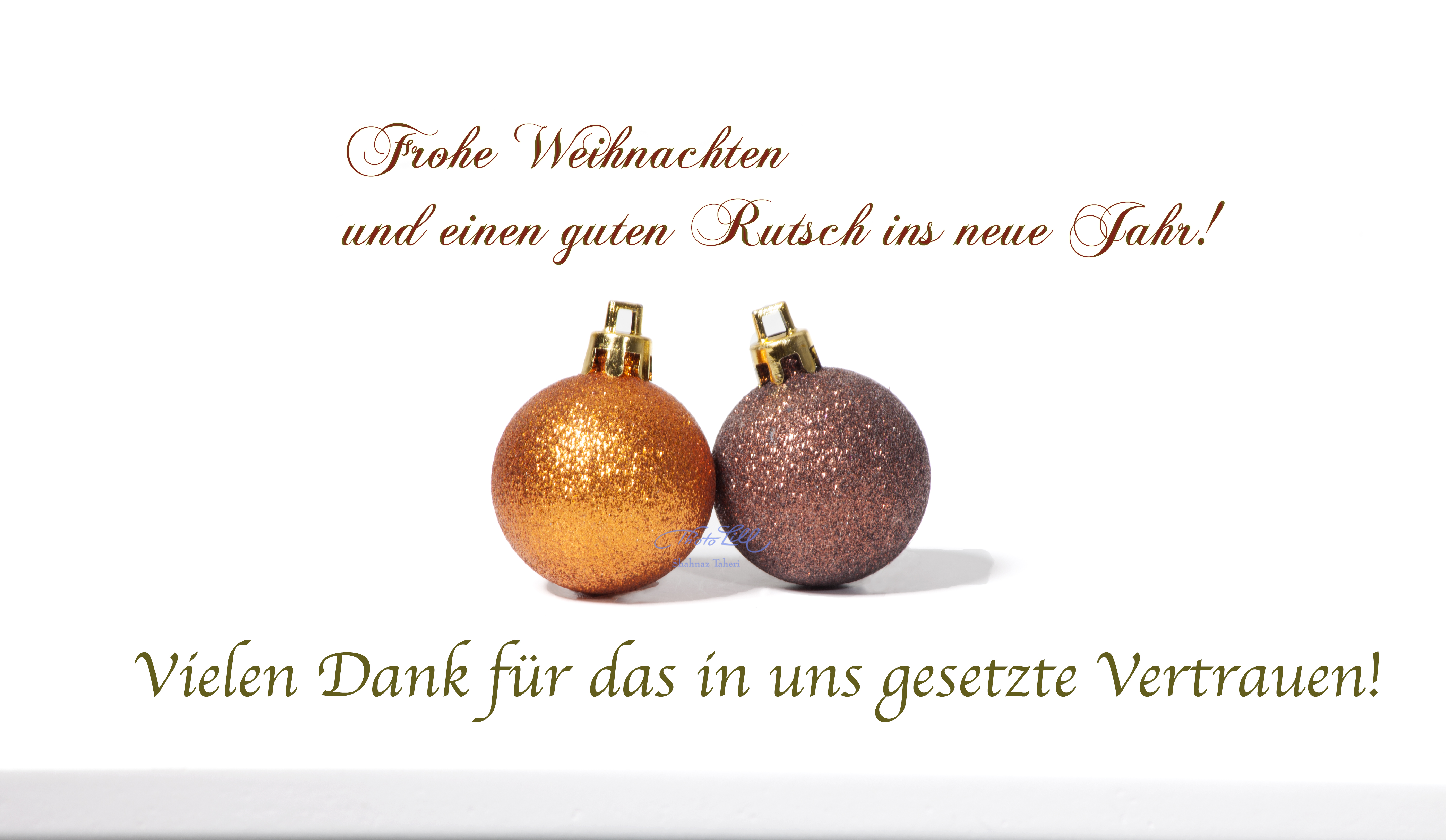 Weihnachtsgruß- Photo Lill